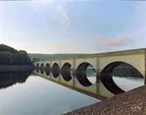 Ladybower Reservoir and Padley Gorge film photography